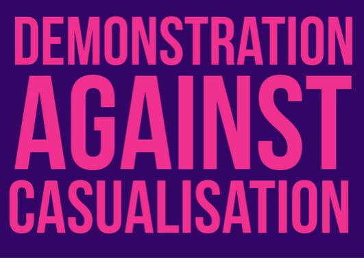 Model motion for national demonstration againstTeachHigher