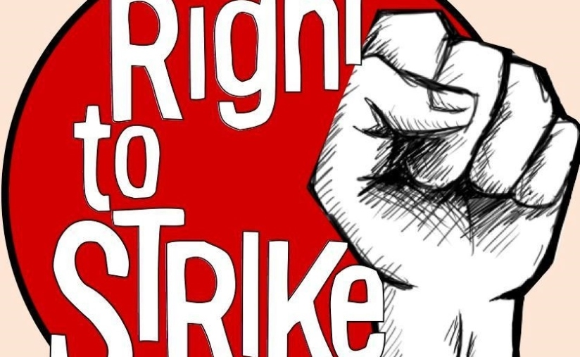 Right to Strike campaign logo