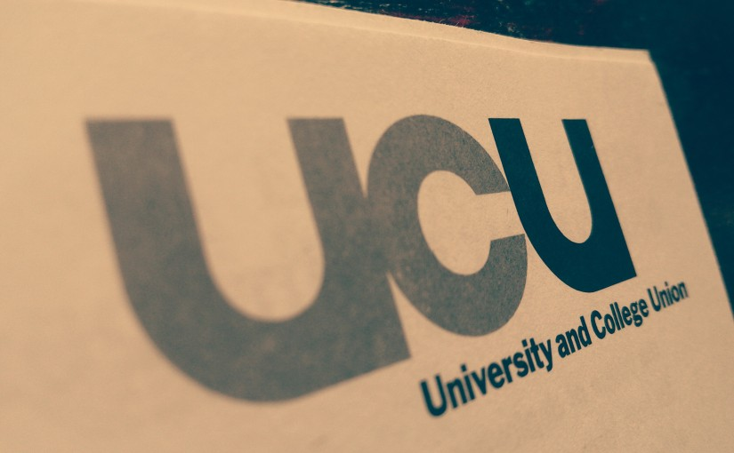 Flyer for UCU National Strike (May25-26)